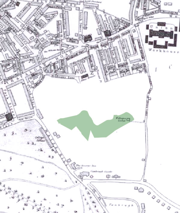 History of Westcombe Woodlands - 1866 Map