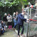 Matthew Pennycook MP declares the woodland open!